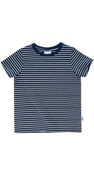 Finkid Supi Shortsleeve Shirt Kids navy/offwhite